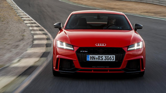 Audi TT RS Coupe (2016) review