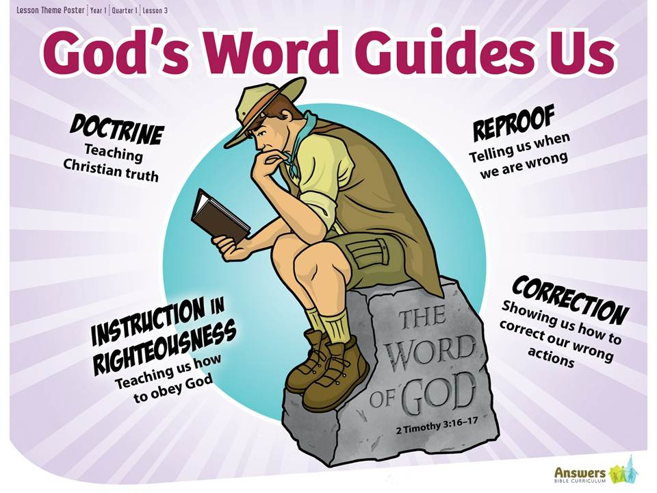 God's Word Guides Us
