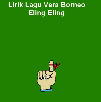Lirik Lagu Vera Borneo - Eling Eling