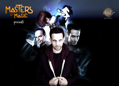 i trucchi magici di dynamo a Masters of Magic 2013