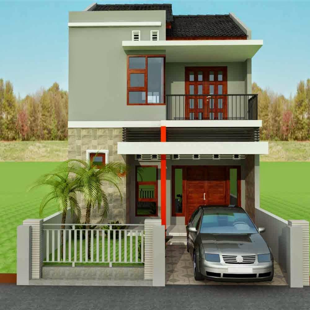 Desain Rumah 2 Lantai Lahan Terbatas Feed News Indonesia