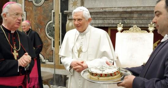 Pope Benedict Birthday Cake
