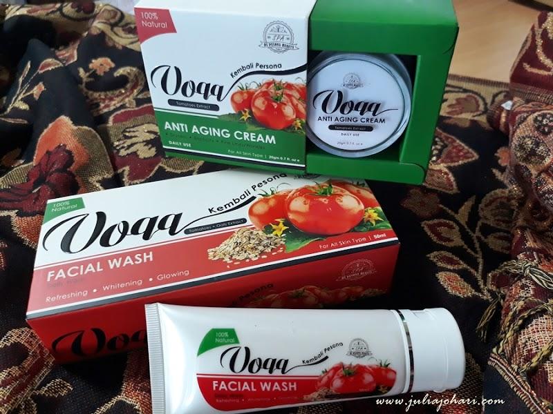 Wajah Kembali Pesona bersama Voqq Skin Care 100% Natural !
