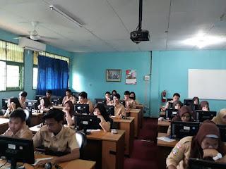 Uji Coba UNBK Tahap 2 di SMAN 110 Jakarta