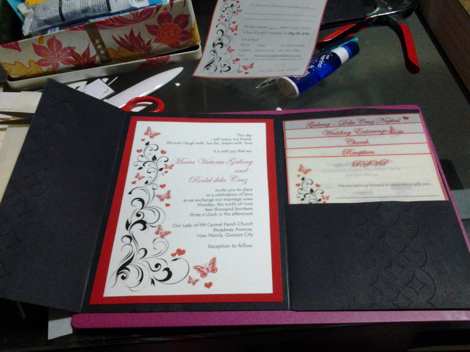 DIY Project: Wedding Invitation (Boarding Pass) - The Adventures ...
