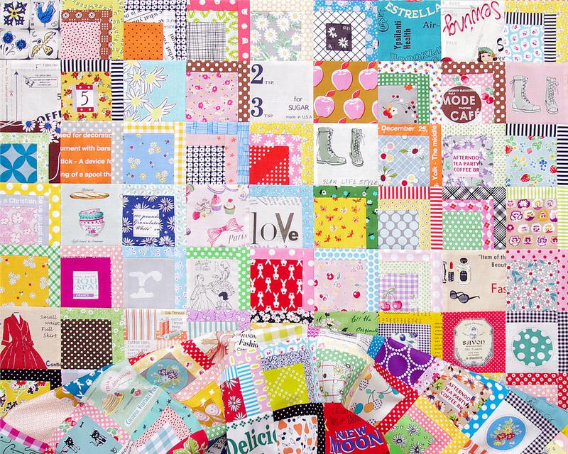 Color Splash Quilt | Work in Progress | Red Pepper Quilts 2016