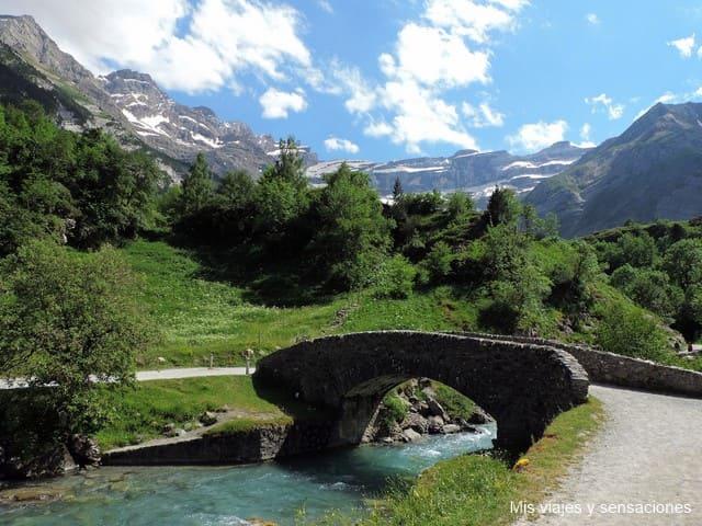 Pont de Nadau, Gavarnie, Pirineos Franceses