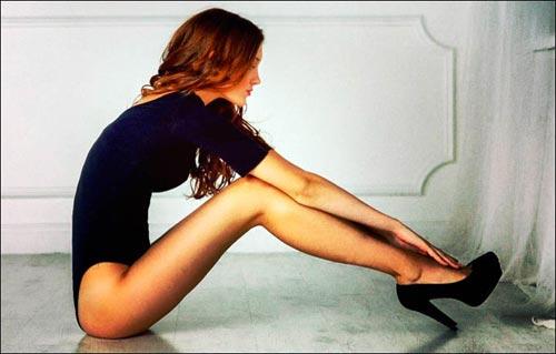 Vẻ đẹp cô gái với đôi chân dài nhất nước Nga | Anastasia Strashevskaya