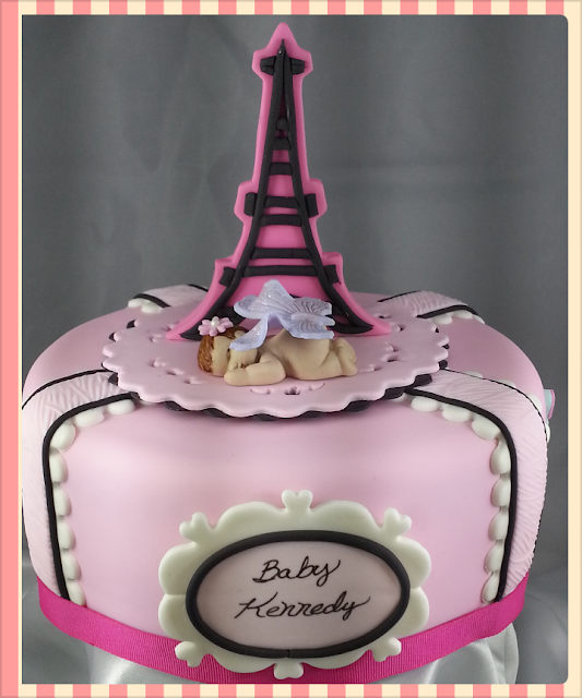 "Cakes By Gleibis: ""Paris Baby Shower"""
