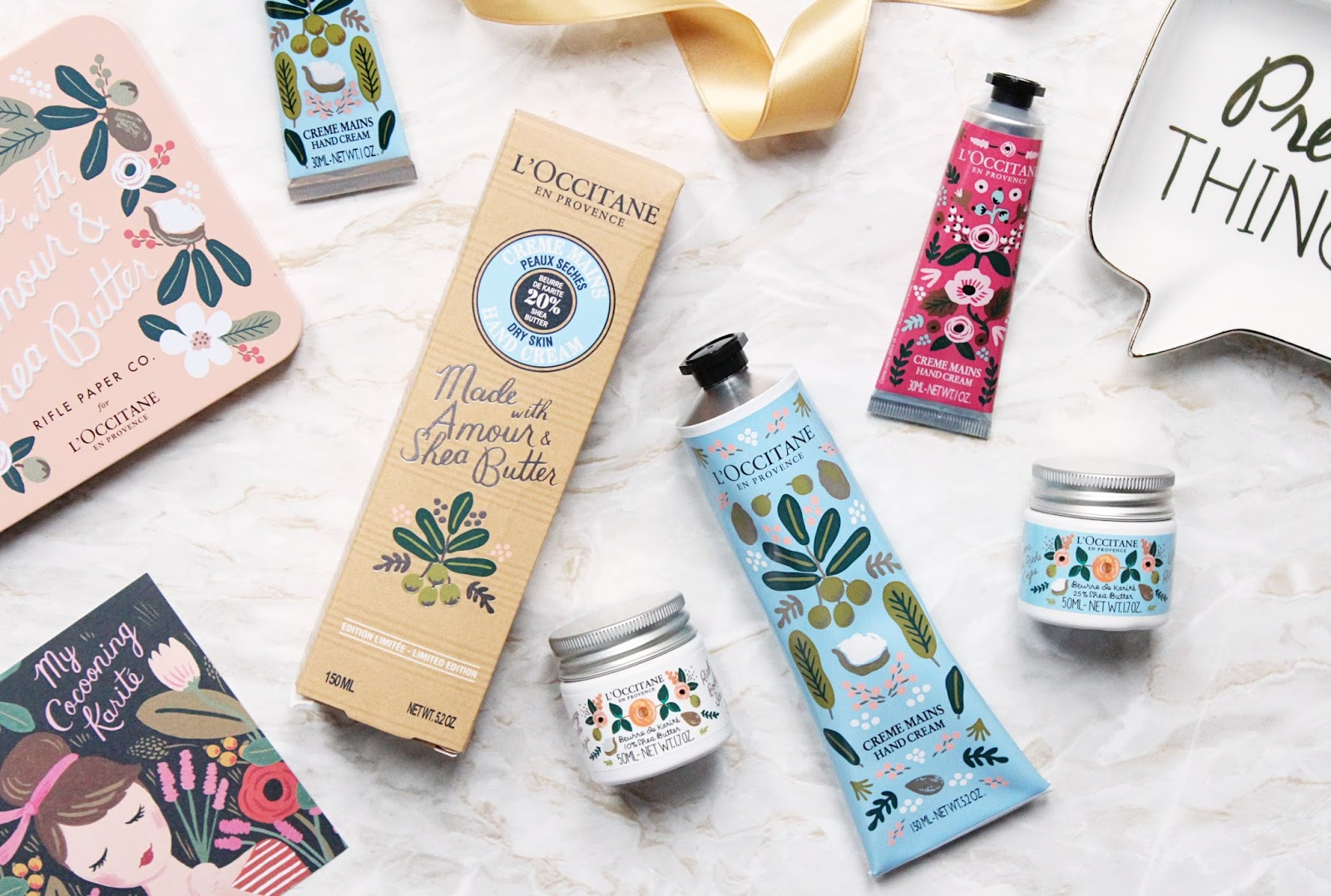 L'Occitane x Rifle Paper Co.