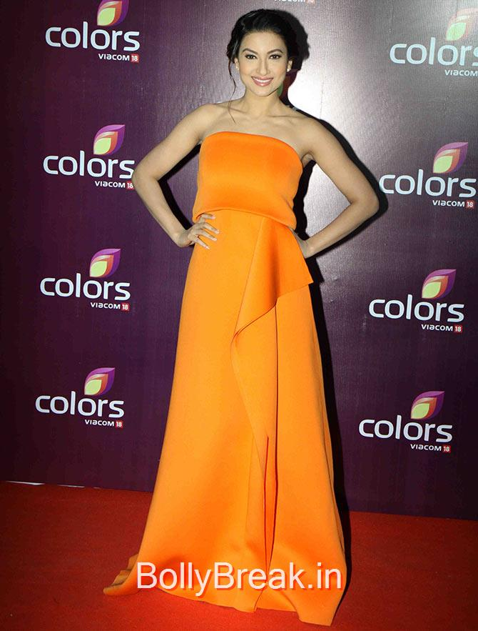 Gauhar Khan, Shamita, Guahar,Sophie Hot Pics at Colors leadership awards