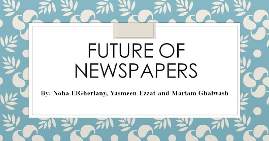 future of newspapers The future of newspapers has been widely debated as the industry has faced down soaring newsprint prices, slumping ad sales, the loss of much classified advertising and precipitous drops in circulation.