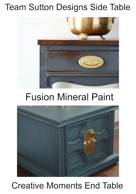 Fusion Mineral Paint Tables, Bliss-Ranch.com