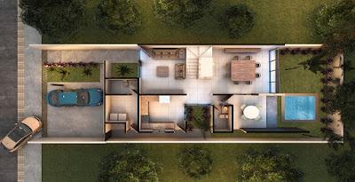 Casa Modelo en Privada Residencial Arborettos-Modelo Álamoplanos