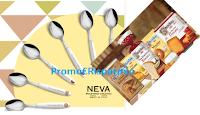 Logo Mulino Bianco #laprimacosabella: come omaggio sicuro set da 6 cucchiaini Neva