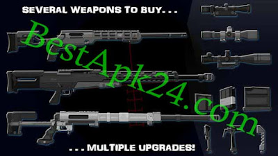 Stick Squad Sniper Battlegrounds Android MOD APK Unlimited Money Download 5 - Stick Squad: Sniper Battlegrounds v1.0.48 Apk + Mod