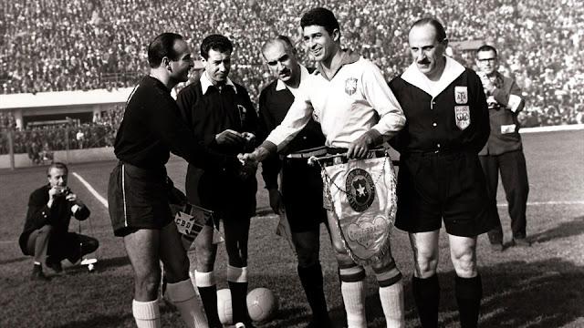 Brasil y Chile en Copa del Mundo Chile 1962, 13 de junio
