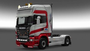 Scania Streamline Olimpus paintjob mod
