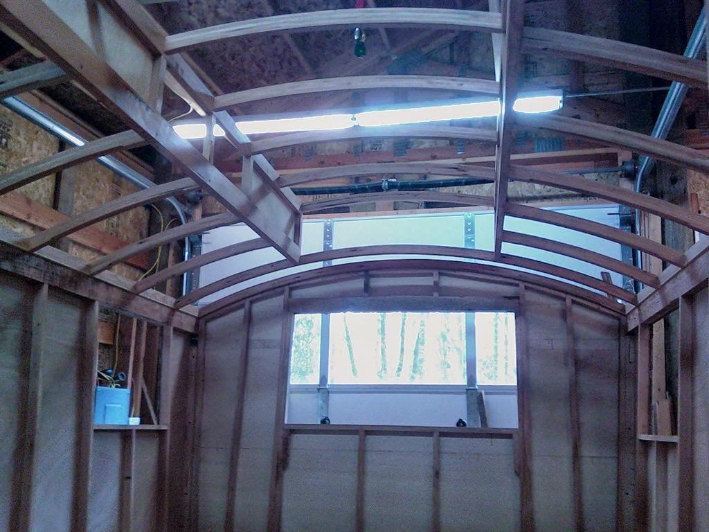 casita gitana en construcción
