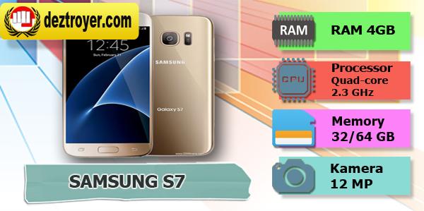 Spesifikasi : samsung S7