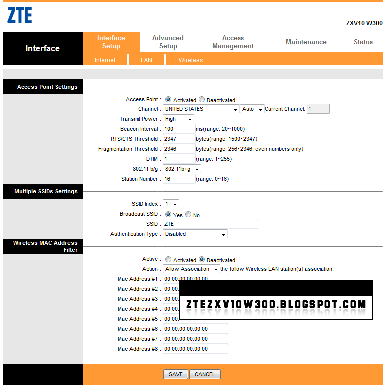 ZTE ZXV10 H108L Firmware rar – CAN-CAN