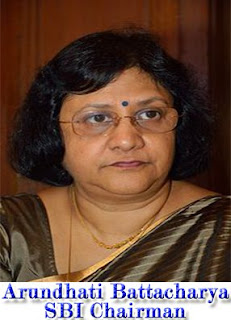 Arundhati Battacharya may get chance to extend 1year of service as chairman for SBI