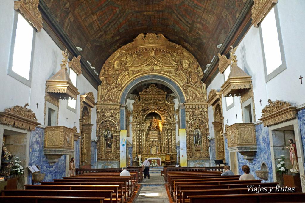 Iglesia del Carmen, Viseu, Portugal