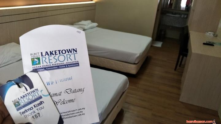 Percutian Singkat di Hotel Bukit Merah Laketown Resort