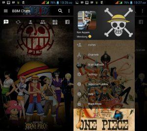 BBM Mod One Piece V3.3.0.16 Apk
