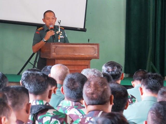 Dandim 0615/Kuningan Laksanakan Jam Komandan