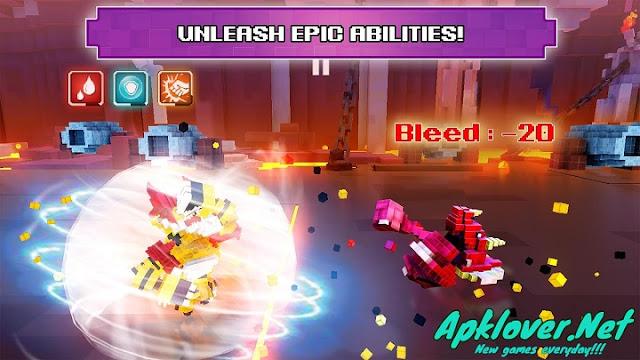 Super Pixel Heroes MOD APK