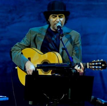 Foto de Joaquín Sabina en el escenario