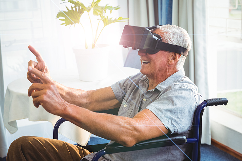 Virtual Reality Puts Seniors Behind the Lenses