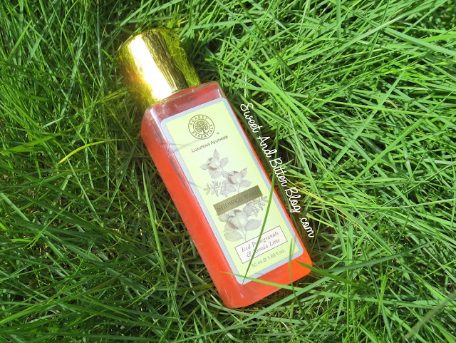 Forest Essentials Iced Pomegranate & Kerala Lime Shower Gel Review