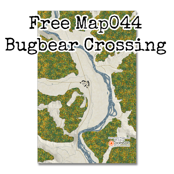 Free Map044: Bugbear Crossing