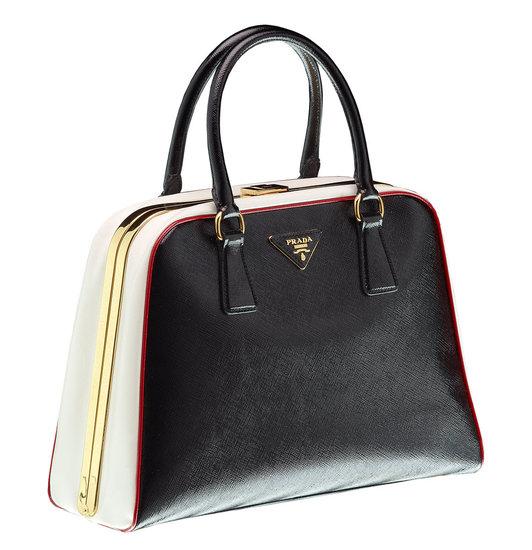 8265c6d611 La Petite Robe Noire: Prada Pyramid Bag