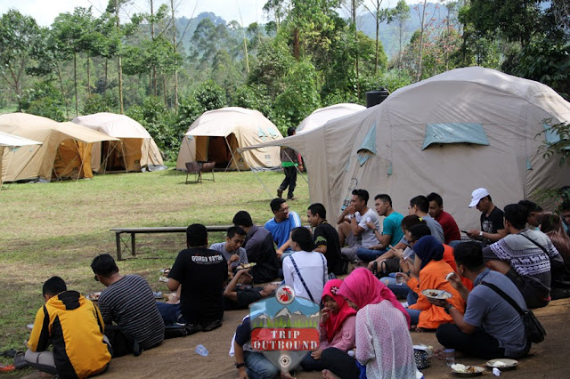 Camping Bandung Seru Bersama tripoutbound