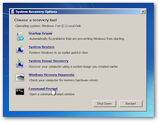 recovery option tools