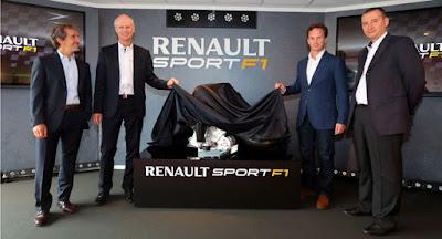 """Presentazione ufficiale motore Renault Sport """"Energy"""" V6 turbo per anno 2014"""