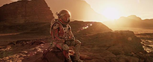 Matt Damon image from The Martian movie