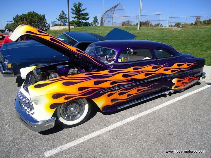 """Exclamation Point In Car >> HOVER MOTOR COMPANY: Fancy flames - putting the """"hot"""" in ..."""
