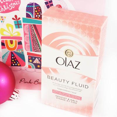 Pink Box Weihnachtsedition 2015 Beauty Fluid Olaz