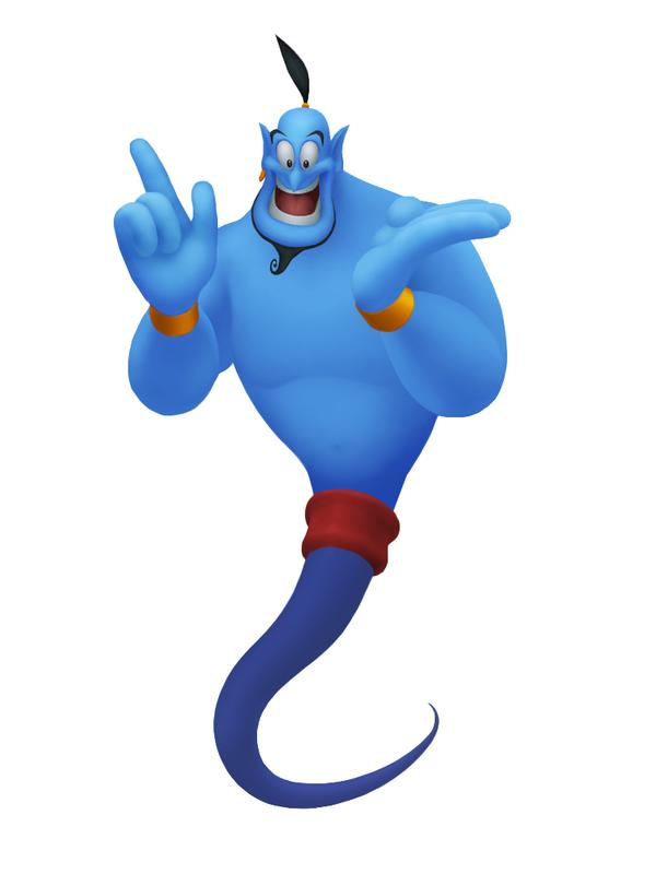 Genie I Wish You Free