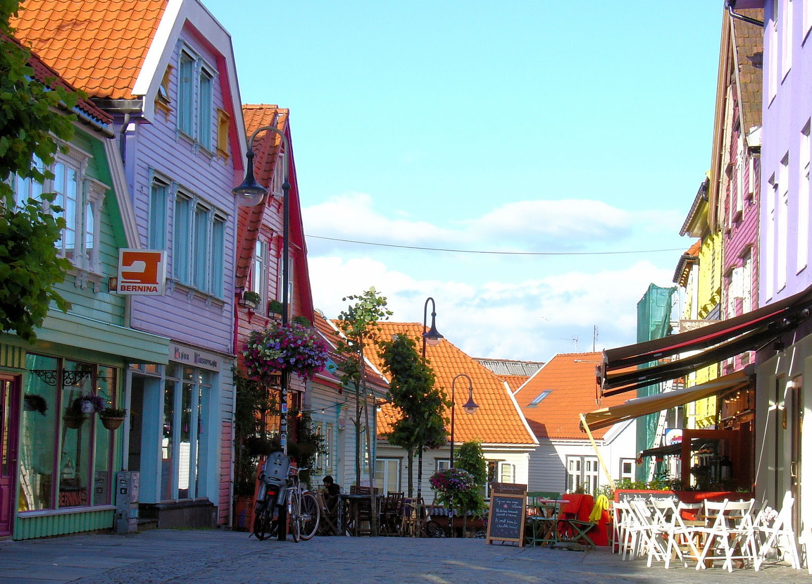 Øvre Hommegate – Stavanger's most colorful street. Don't you agree?