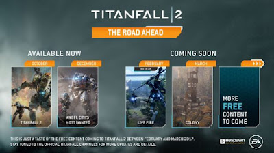 תוכן חינמי חדש הוכרז ל-Titanfall 2 ויגיע בחודשים הקרובים
