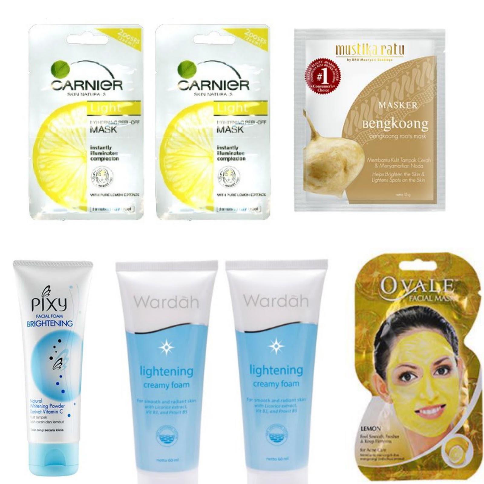 Rekomendasi Merk Masker Wajah Terbagus Untuk Menghilangkan: Krim Pemutih Dan Masker Wajah Di Indomaret Yang Bagus