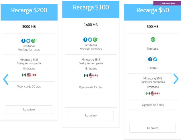 movistar recargas con sus beneficios