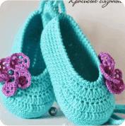 Zapatitos de Bebe a Crochet