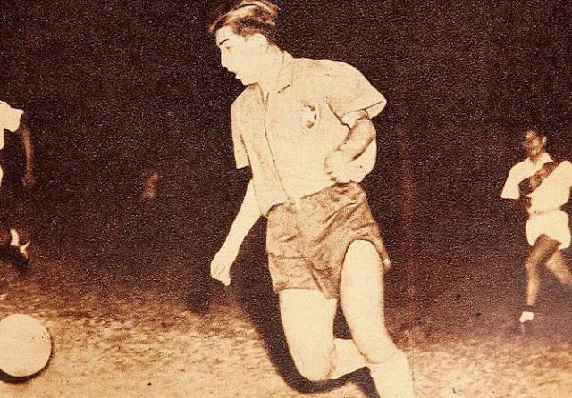 Chile y Perú en Campeonato Sudamericano de 1947