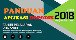 Panduan Aplikasi Dapodik 2018 dejarfa.com